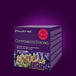 Aquaforest Components Strong (4x75ml) Microelementos concentrados - Imagen 1