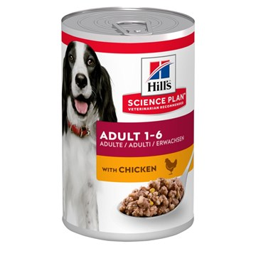 Hill´s Lata comida para perros 370gr Science Plan Canine Adult Pollo - Imagen 1