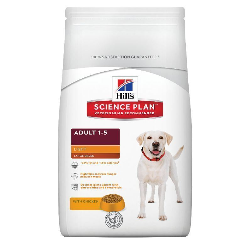 Hill´s Science Plan Canine Adult Large Light Pollo Razas Grandes 12 Kg - Imagen 1