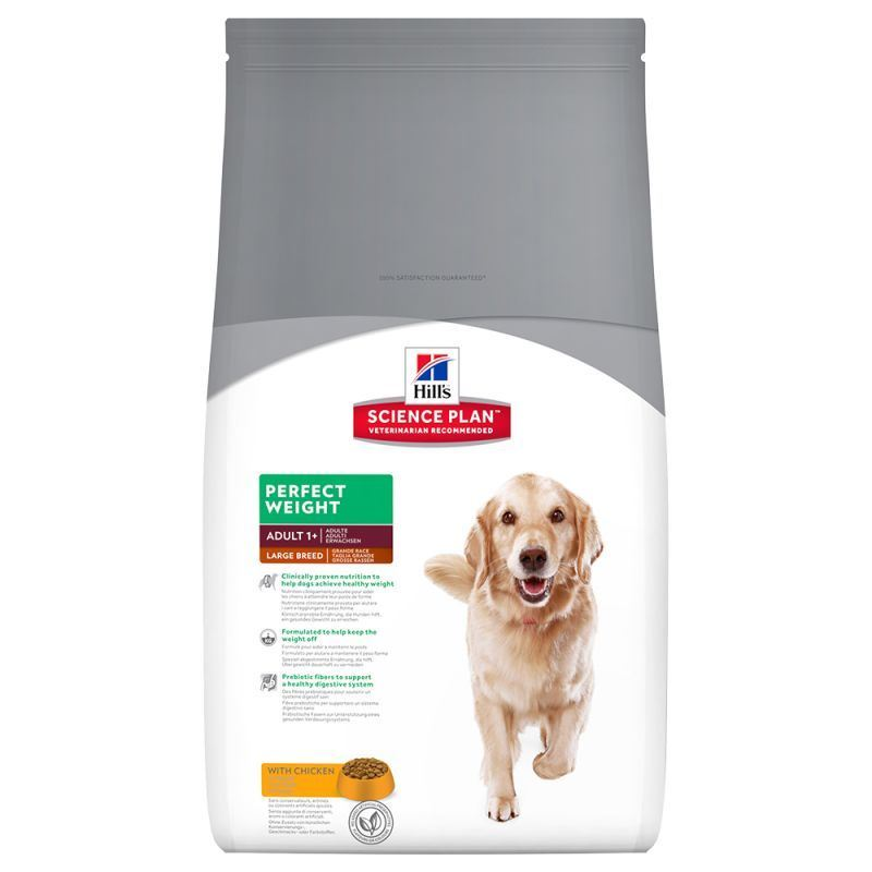 Hill´s Science Plan Canine Perfect Weight Large Pollo Razas Grandes 12 Kg - Imagen 1
