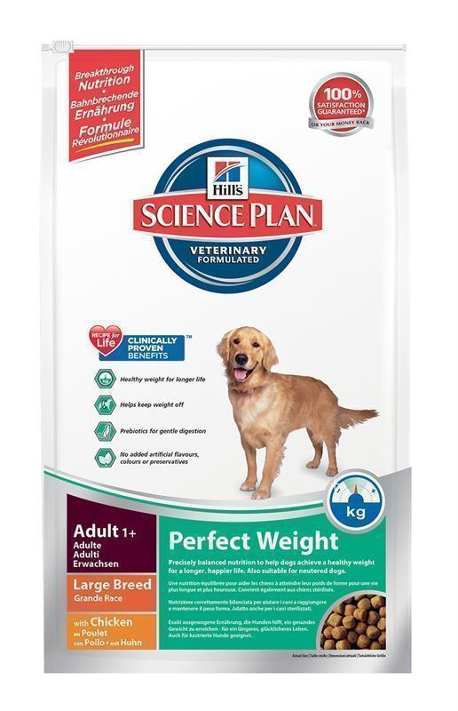 Hill´s Science Plan Canine Perfect Weight Large Pollo Razas Grandes 12 Kg - Imagen 2