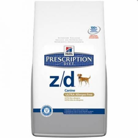Hill´s Prescription Diet z/d Canine ULTRA Allergen-Free (Alergias Alimentarías) - Imagen 1