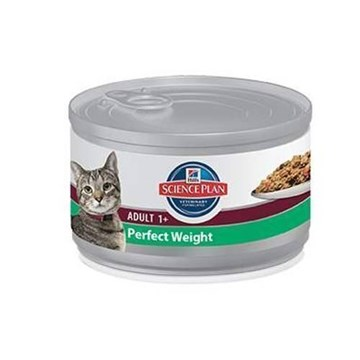 Lata comida para Gatos Hill´s Science Plan Feline Adult Perfect Weight con Pollo - Imagen 1