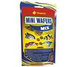 Tropical Mini Wafers Mix Comida para Peces de Fondo v Crustaceos